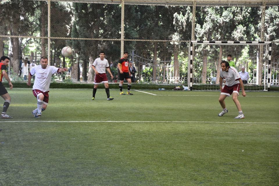 AMEA gənc alim və mütəxəssislərin institutlararası V Futbol Çempionatın finalçıları məlum oldu