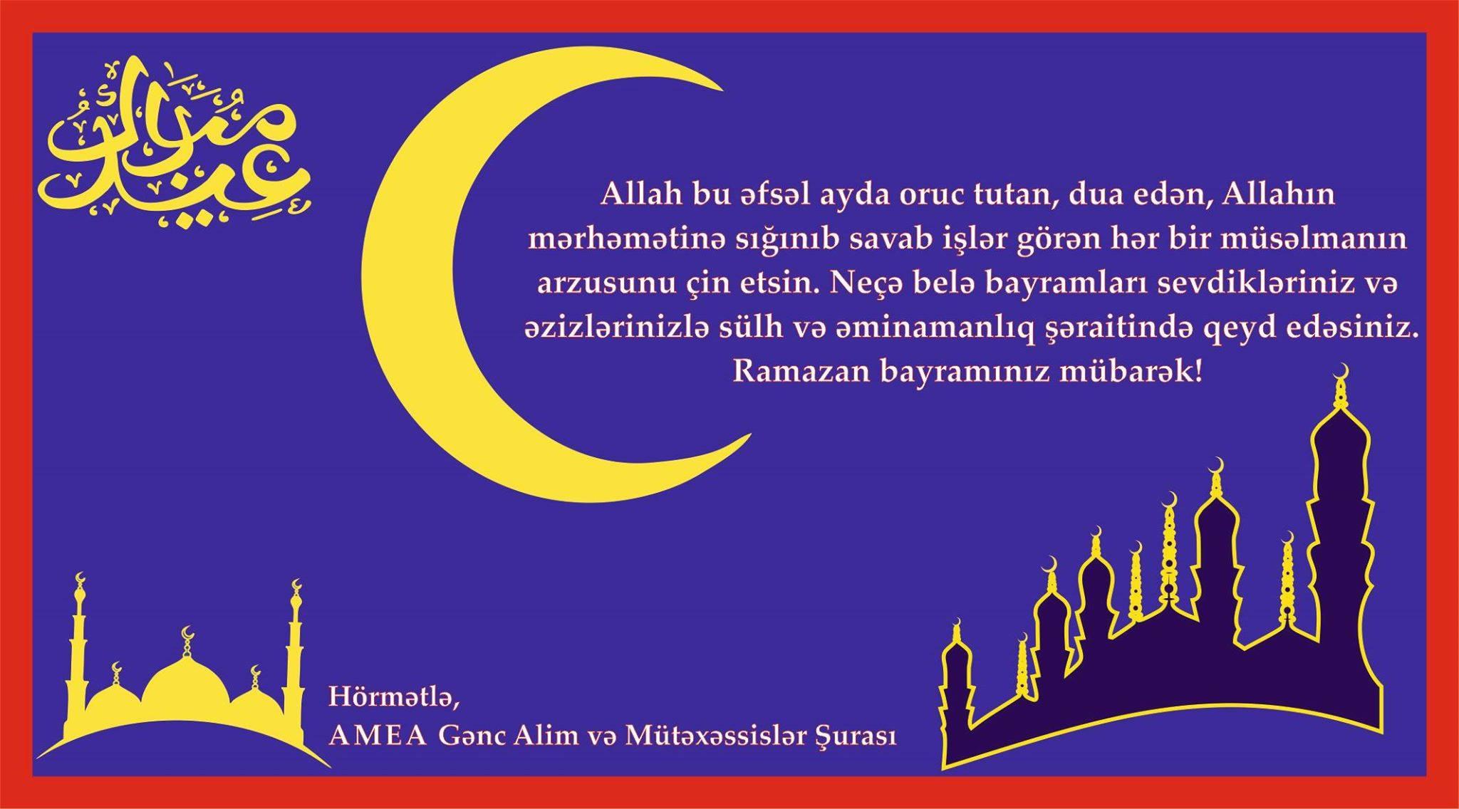 Ramazan bayramı ilə əlaqədar 5 gün iş olmayacaq