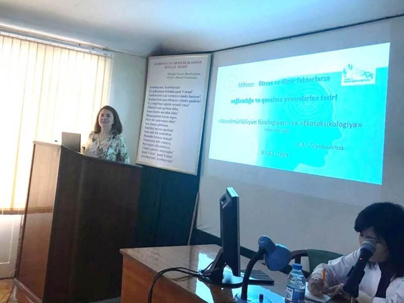 Gənc fizioloqların növbəti elmi seminarı keçirilib