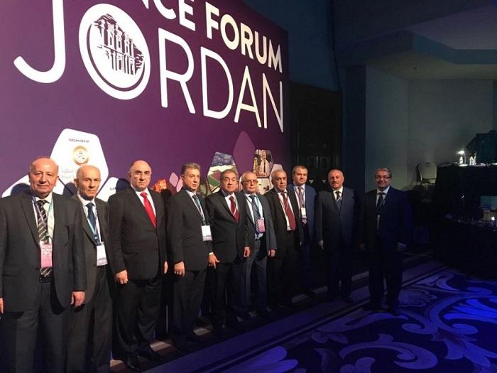 AMEA-nın prezidenti Dünya Elm Forumunda