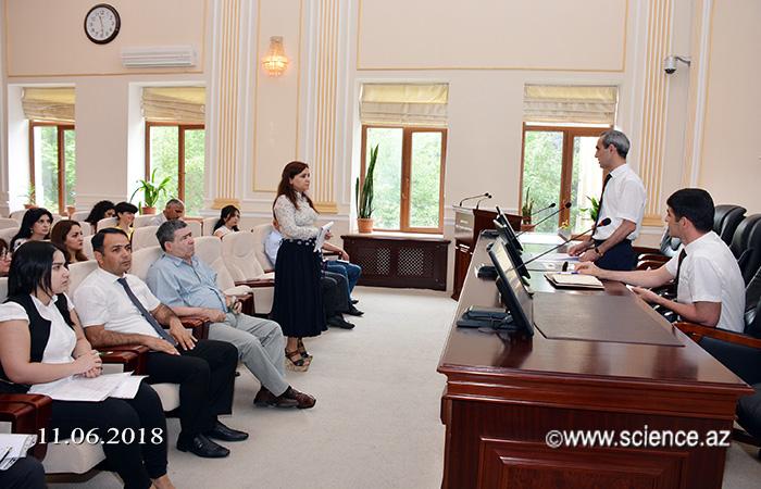 AMEA-nın magistraturasına 10-nu rus bölməsi olmaqla, 50 ixstisaslaşma üzrə 92 plan yeri ayrılıb
