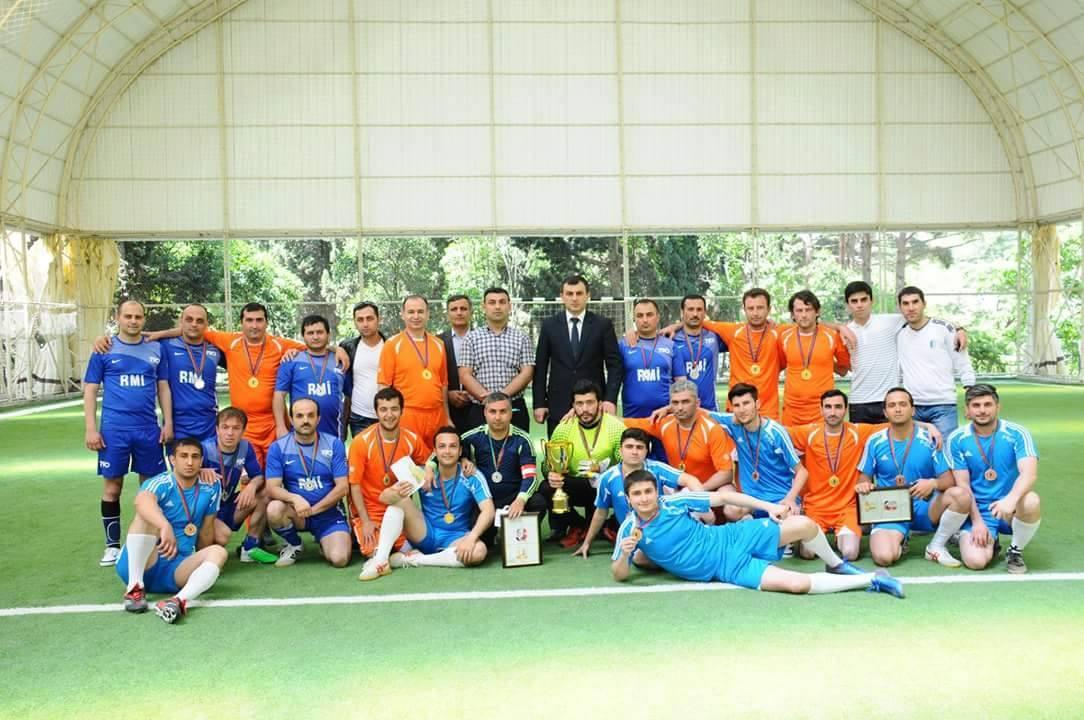 AMEA Gənc Alim və Mütəxəssislərinin II Futbol Çempionatının finalı