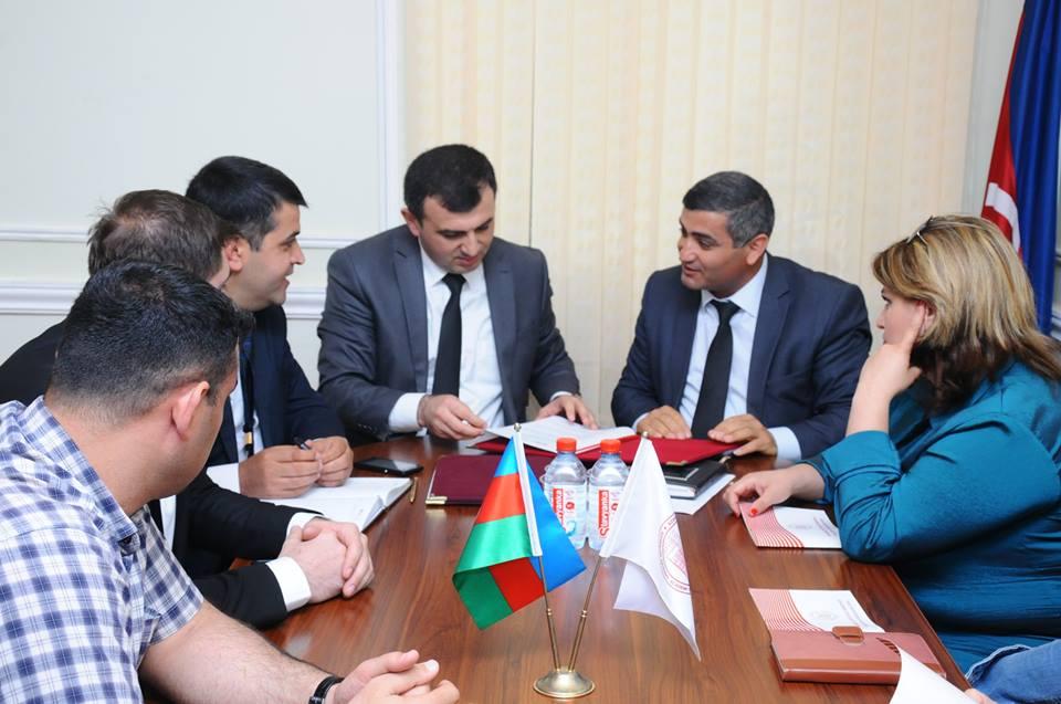 Gənc alimlər aqrar sektor üzrə əməkdaşlığa dair memorandum imzalayıb