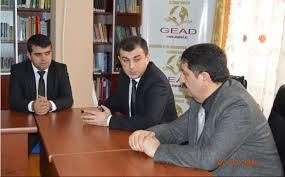 """GEAD-ın ofisində """"Gənclər günü"""" münasibətilə Famin Salmanovla görüş keçirilib"""