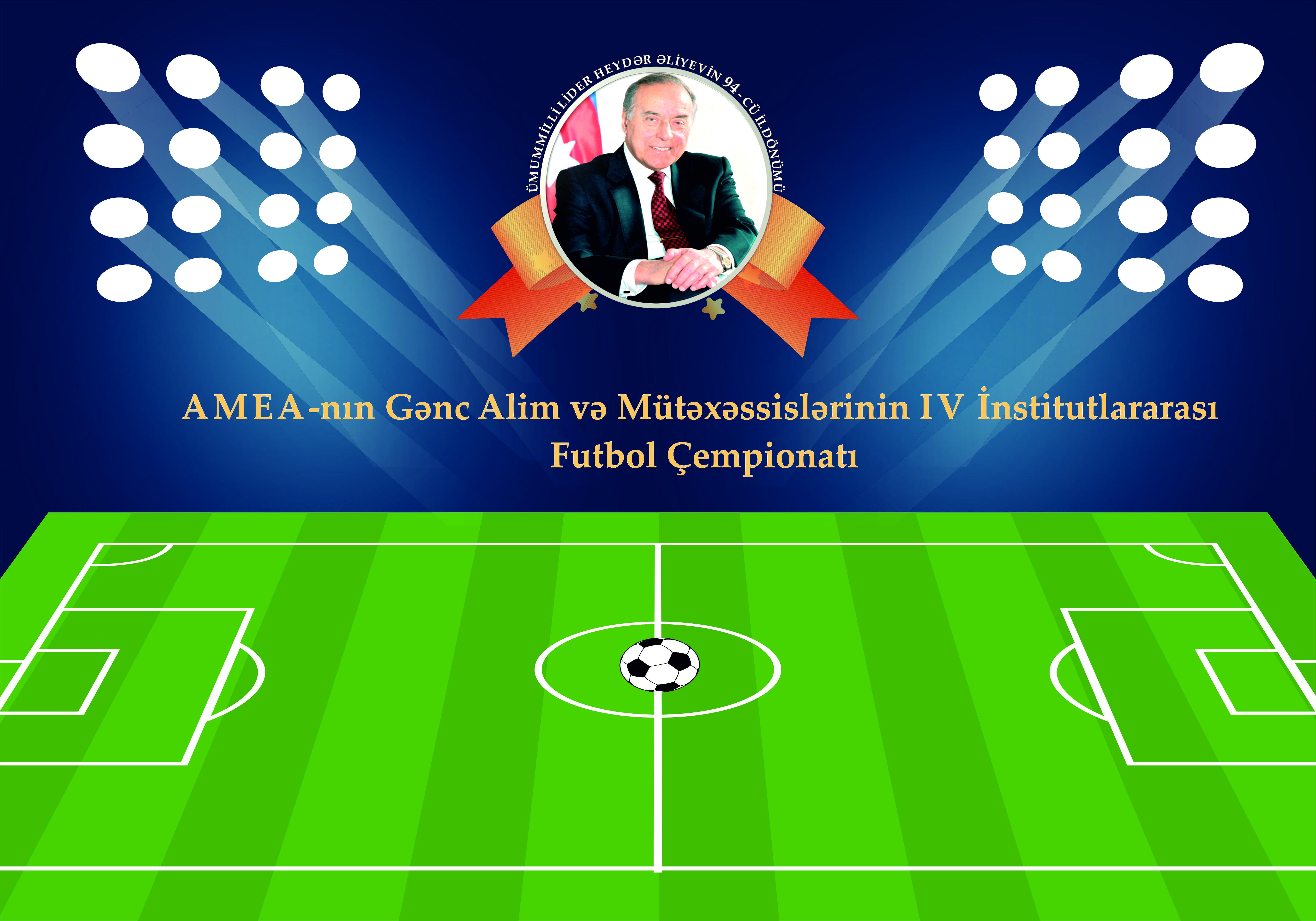 Gənc alim və mütəxəssislərin IV institutlararası futbol çempionatında növbəti həyəcan başlayır!!!