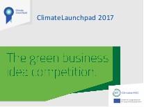 """""""ClimateLaunchpad"""" beynəlxalq startap proqramına start verilib"""