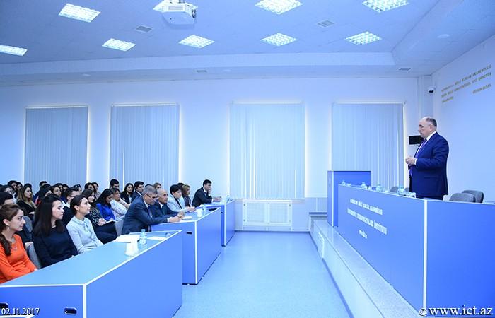 AMEA İnformasiya Texnologiyaları İnstitutunda bu qurumun Gənc Alim və Mütəxəssislər Şurasının tərkibi yenidən formalaşdırılıb