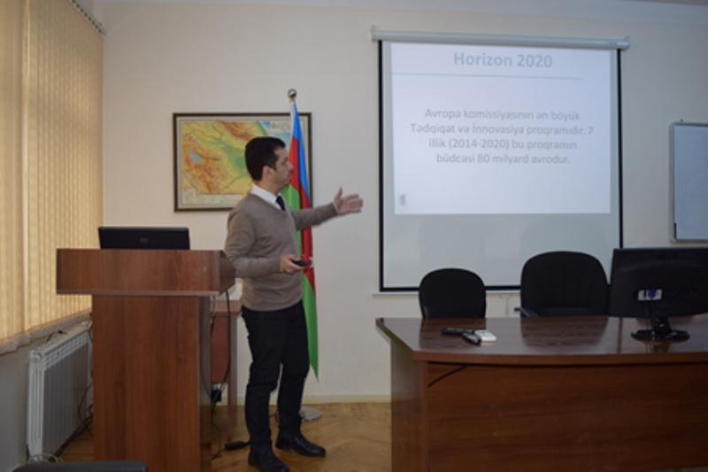 """""""Horizon-2020"""" proqramı üzrə maarifləndirici seminar keçirilib"""