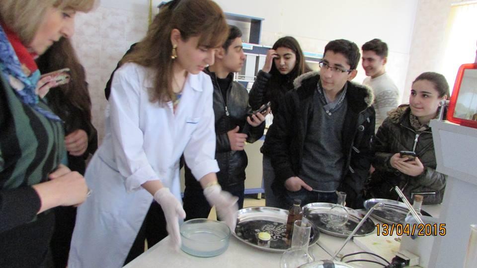 AMEA Aşqarlar Kimyası İnstitutunda gənc alimlər multidissiplinar tədqiqatlar aparırlar