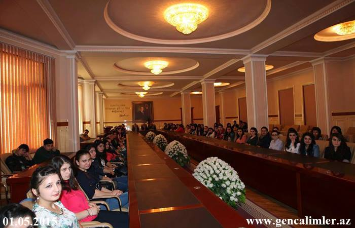 Experts of the Council of Young Scientists and Specialists held a seminar for chemists students and masters of BSU