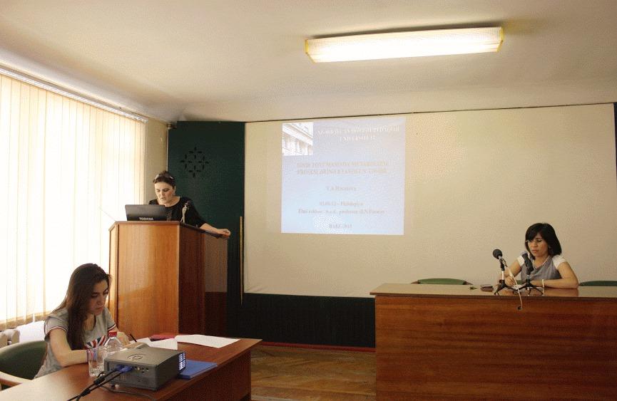 Gənc fizioloqların elmi seminarı davam edir