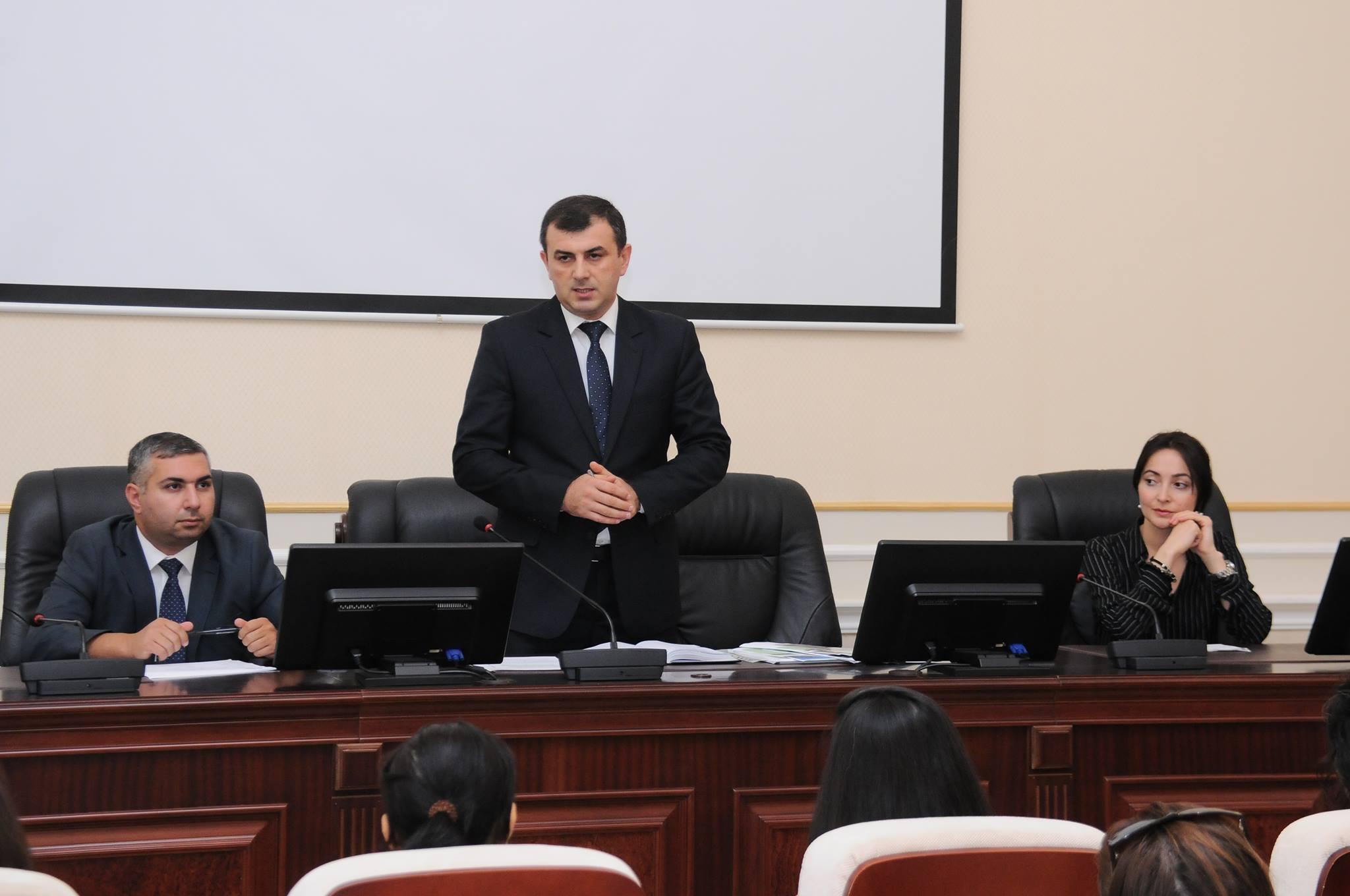 """""""Akademik Elm həftəliyi - 2015"""" forumuna hazırlıq məsələləri müzakirə olunub"""