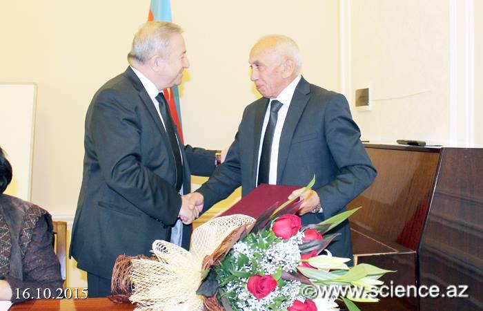 Akademik Ağadadaş Əliyevin 75 illik yubileyi qeyd edildi