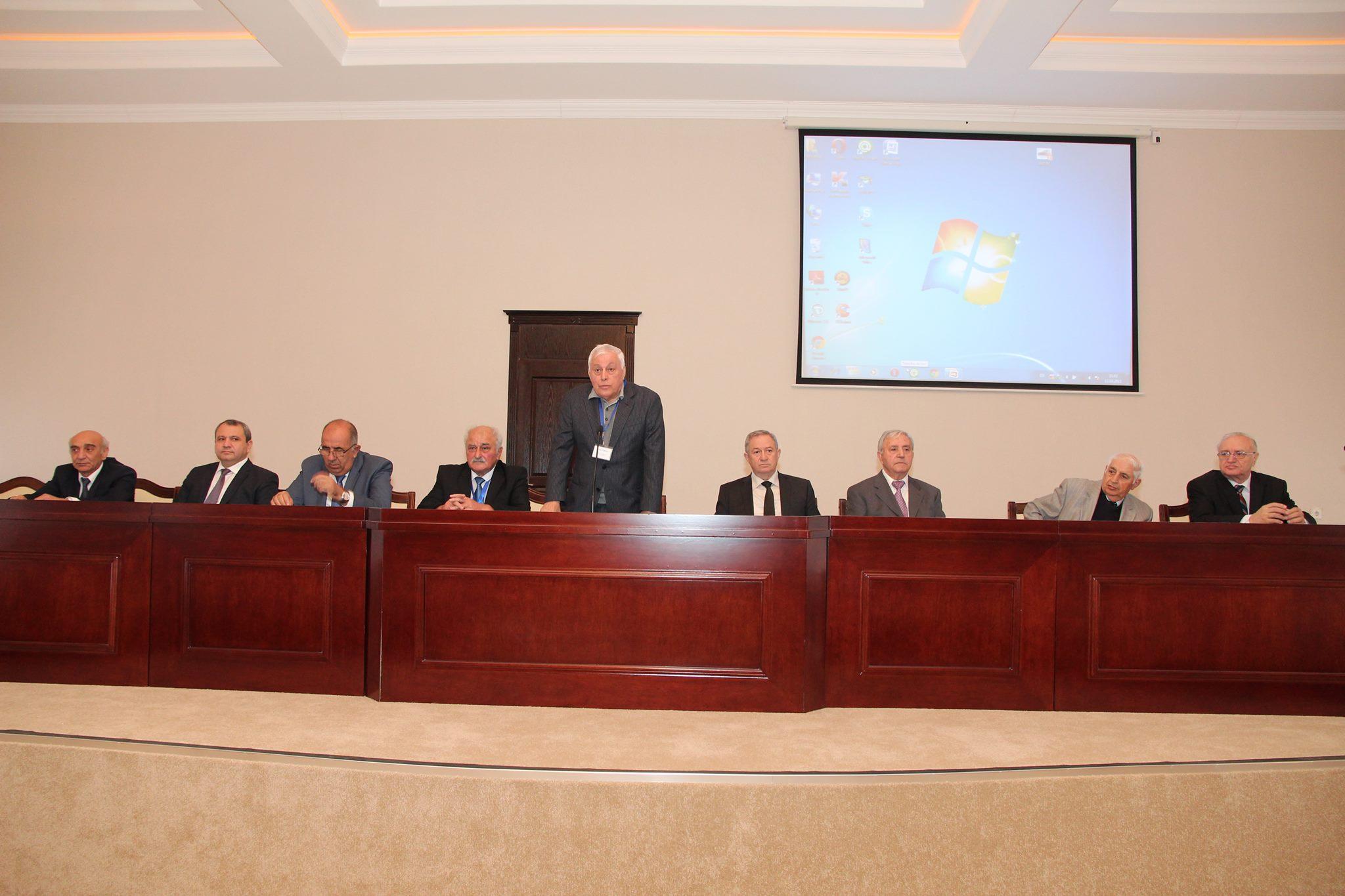 AMEA Aşqarlar Kimyası İnstitutunun yaradılmasının 50 illiyinə həsr olunan respublika elmi konfransı keçirilir