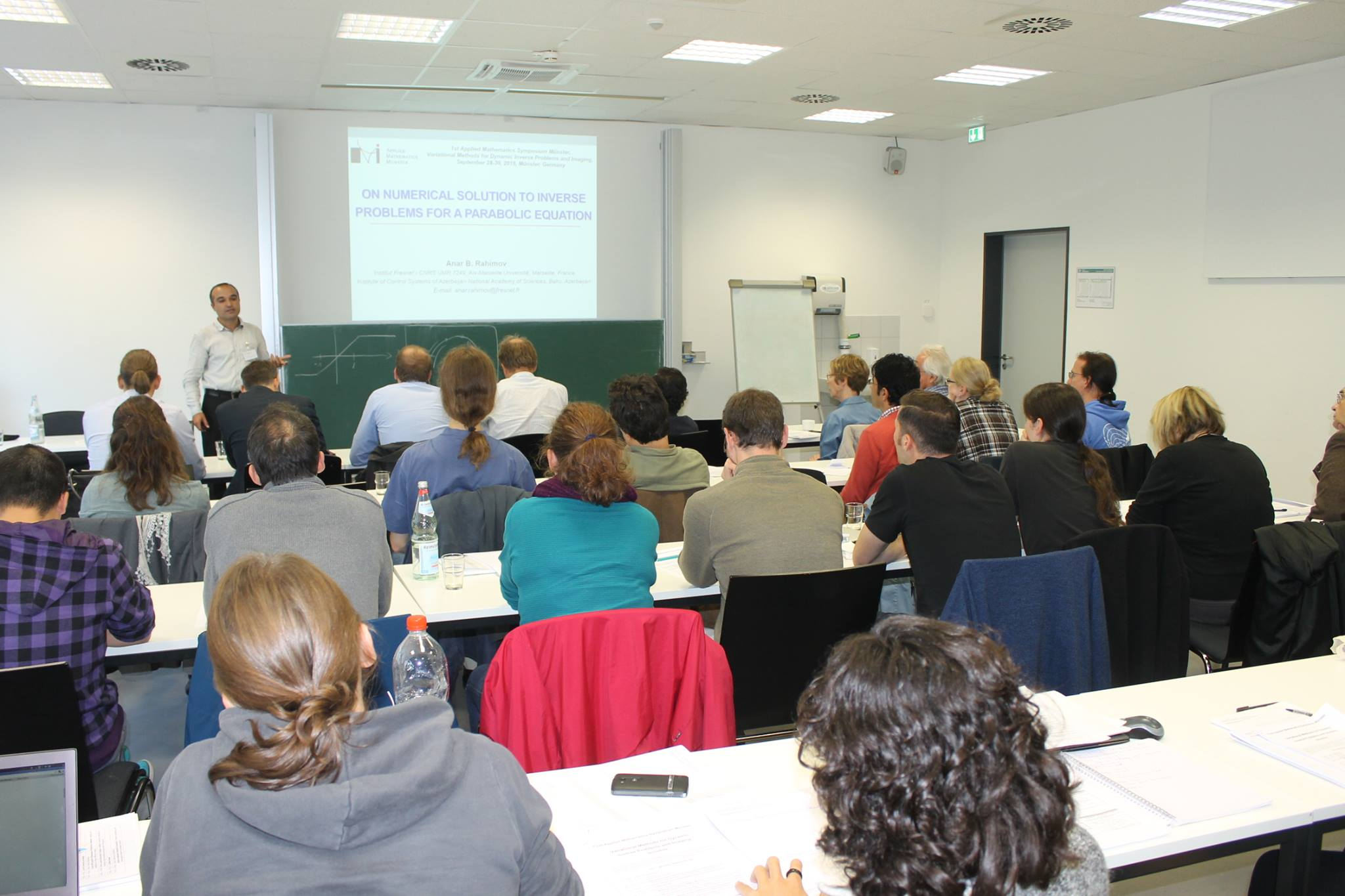 Young researcher of ICS attended the International Conferences and the Summer School on Inverse Problems in Germany