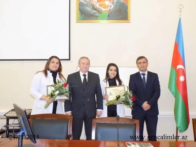 """Gənc kimyaçı alimlərə """"Akademik Murtuza Nağıyev"""" adına mükafat verildi"""