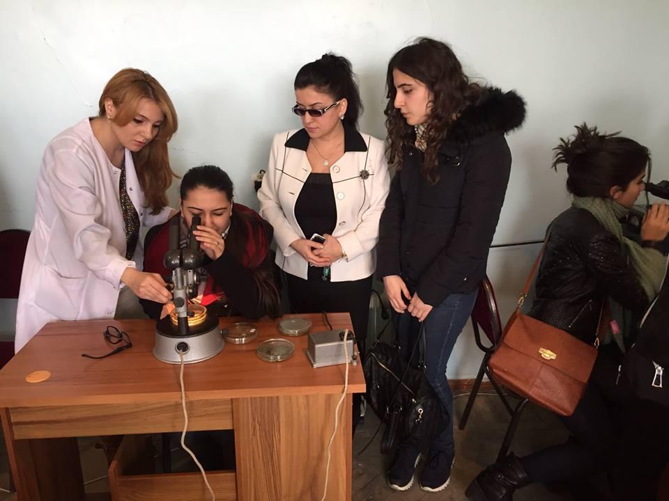 AMEA Mikrobiologiya İnstitutnda tələbələr üçün elmi seminar təşkil olunub