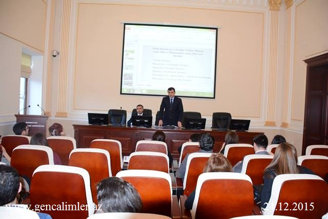 Reports of the Council of Young Scientists and Specialists on for scientific departments kicked off