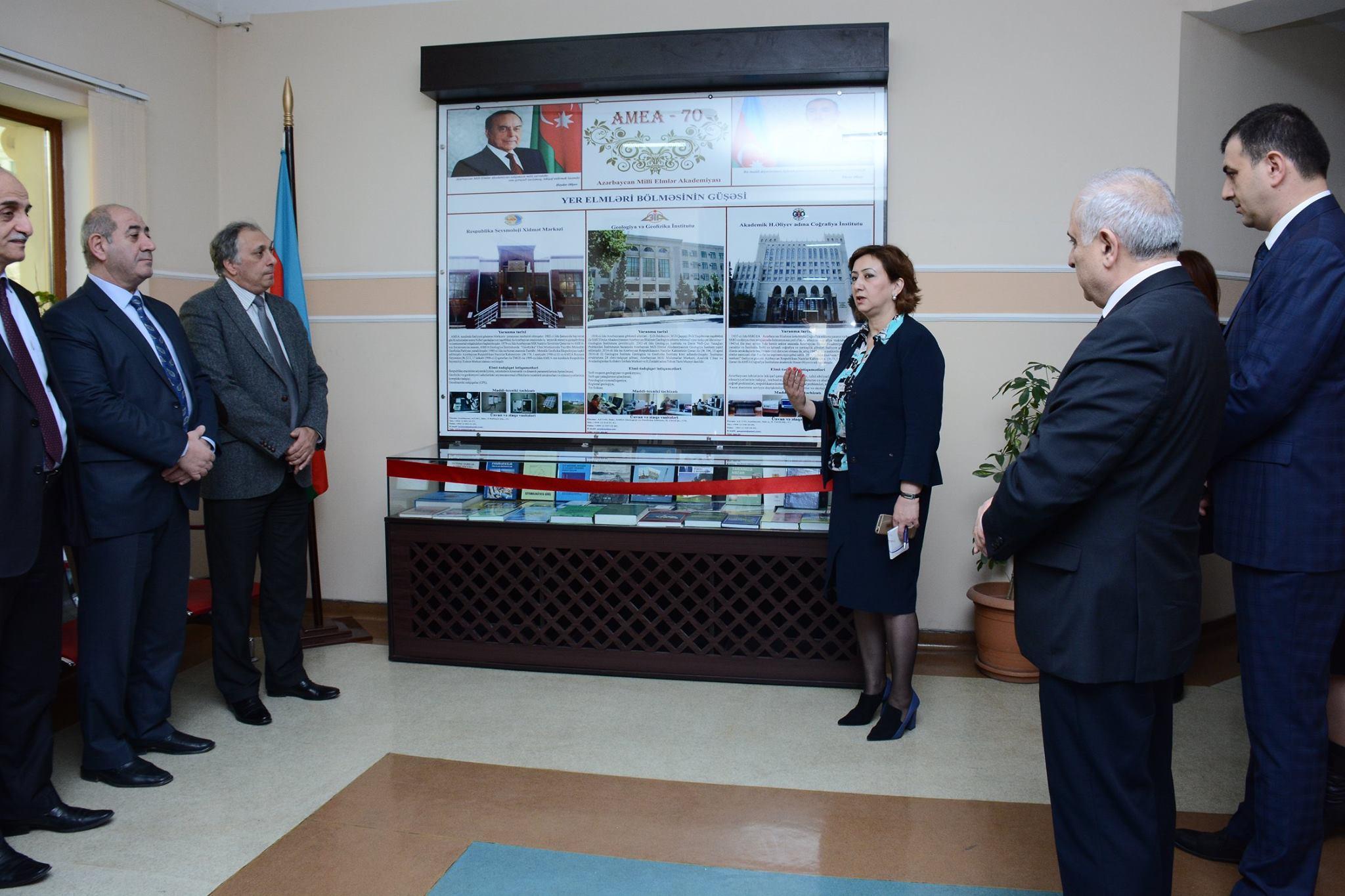 "Lyceum named after Academician Zarifa Aliyeva opened ""Science nook"""