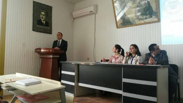 AMEA Gənc Alim və Mütəxəssislər Şurası BDU-nun tələbə və magistrləri üçün növbəti elmi seminar təşkil edib