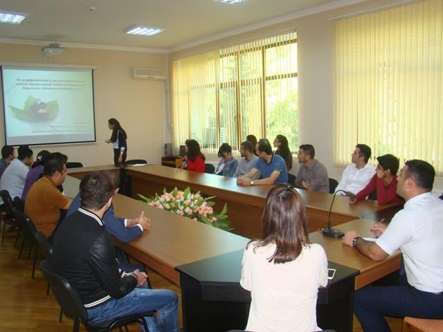 Geologiya və Geofizika İnstitutunda magistrant, doktorant və gənc alimlərin növbəti seminarı keçirilib