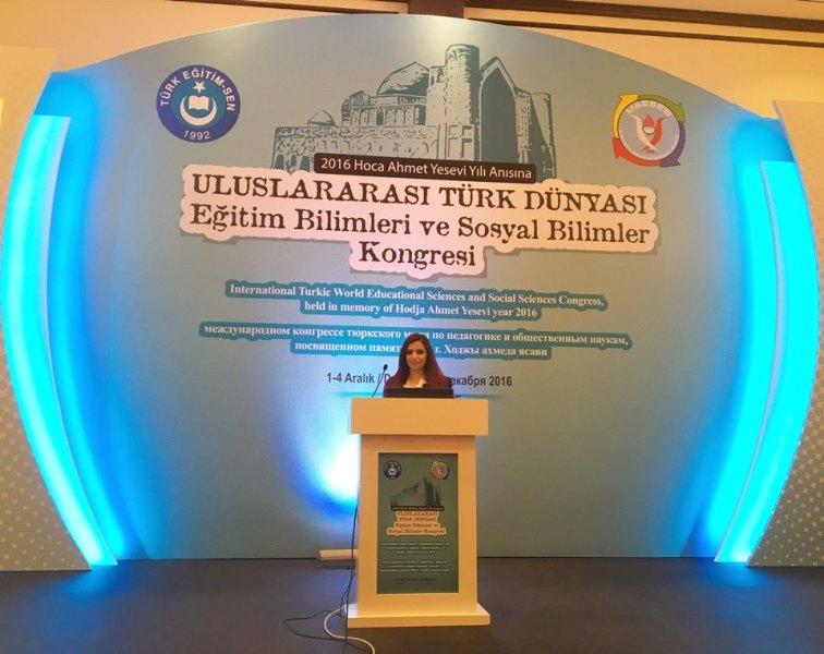 Tarix İnstitututunun elmi işçisi Antalyada keçirilmiş beynəlxalq kongresdə iştirak edib