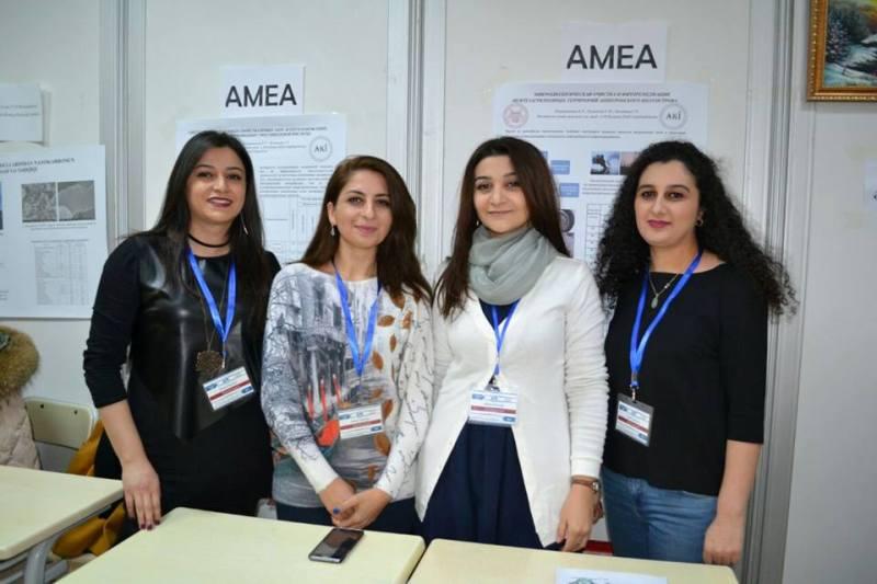 Aşqarlar Kimyası İnstitutu gənc alimləri Qafqaz Universitetində keçirilən II Qış Elm Festivalının qalibi olublar