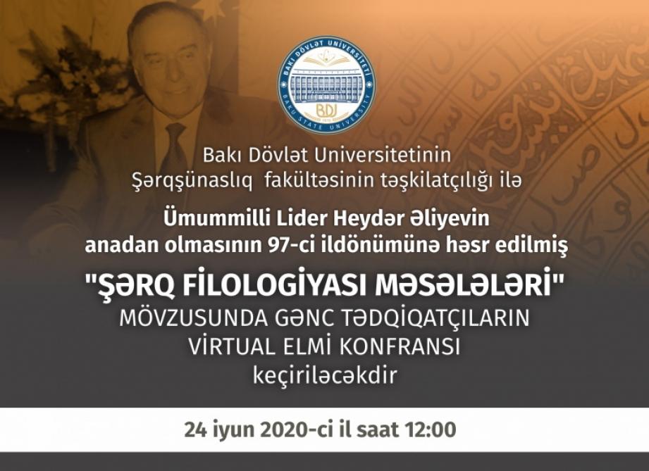 Bakı Dövlət Universitetində gənc tədqiqatçıların virtual elmi konfransı keçiriləcək