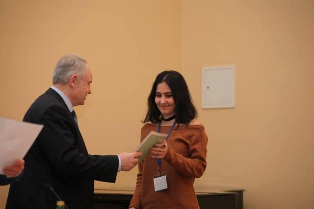 AMEA Geologiya və Geofizika İnstitutunun gənc tədqiqatçısı beynəlxalq konfransın diplomuna layiq görülüb