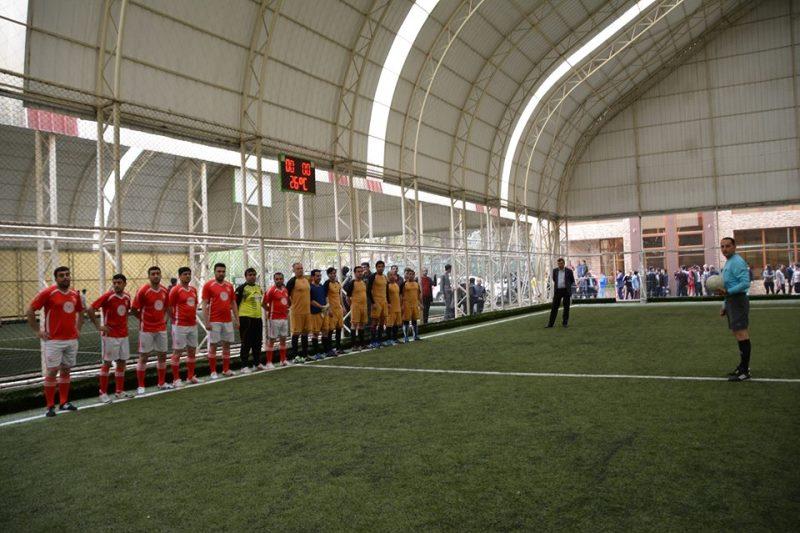 Gənc Alim və Mütəxəssislərin IV Futbol Çempionatında əzəli rəqiblər finalda