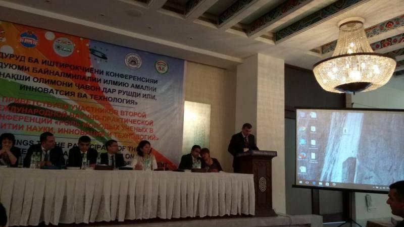 AMEA Gənc Alim və Mütəxəssislər Şurasının sədri Tacikistanda ezamiyyətdədir
