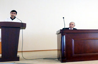 AMEA-nın Aşqarlar Kimyası İnstitutunda Gənc Alim və Mütəxəssislər Şurasının təsis yığıncağı keçirilmişdir