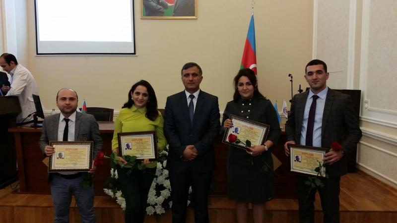 """Gənc kimyaçı alimlərə """"Akademik Murtuza Nağıyev adına mükafat"""" verilib"""