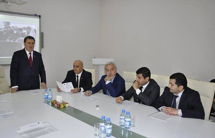 "Was held scientific conference on the theme of ""Heydar Aliyev and the World politics"" Essential Events"