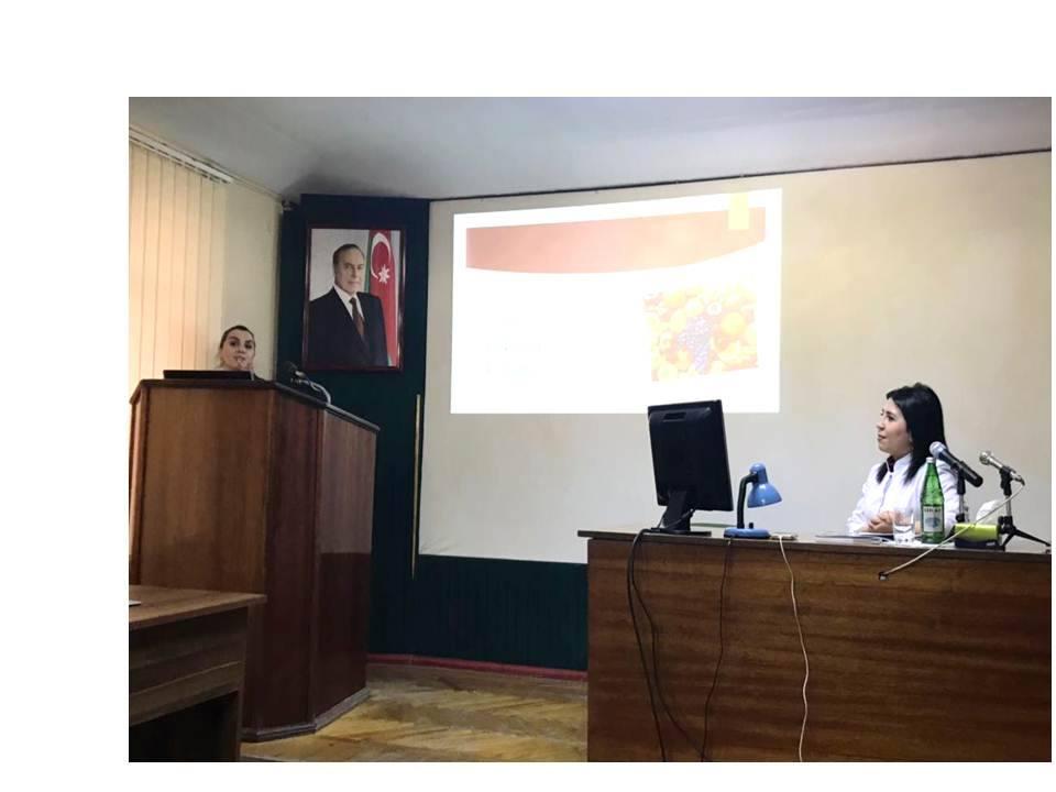 """""""Sağlıqlı Yaşama Dəstək"""" gənc fizioloqlar üçün təqdimat keçirib"""