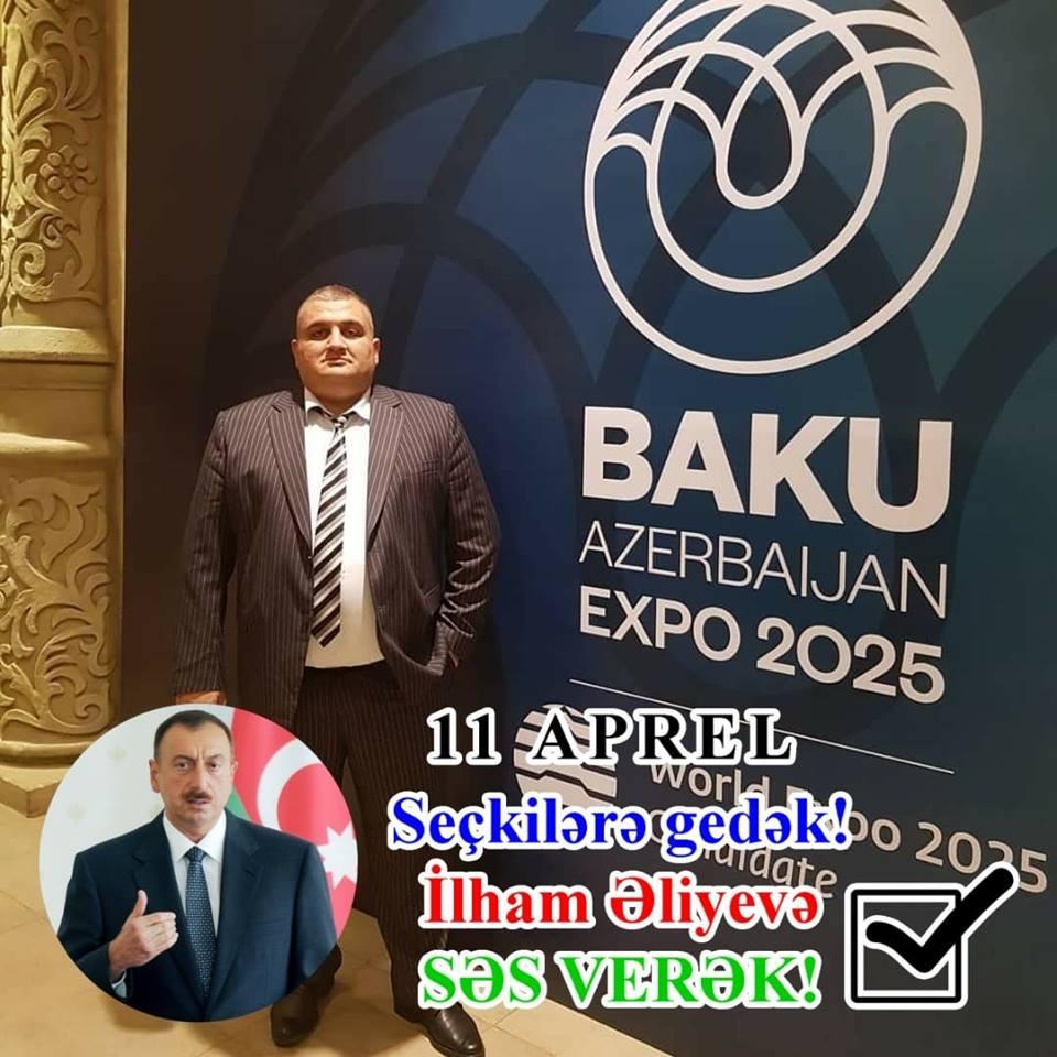 Azərbaycan xalqı seçkilərdə layiqli namizədə səs verəcək