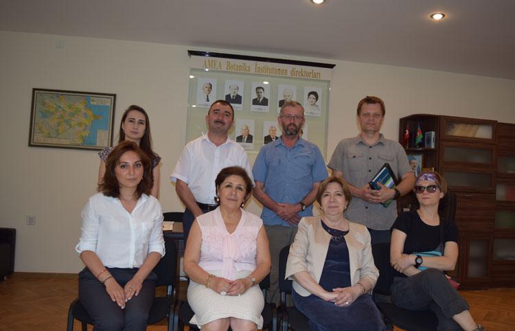AMEA Botanika İnstitutu və Mərkəzi Nəbatat Bağı birgə xarici əməkdaşlığı genişləndirir