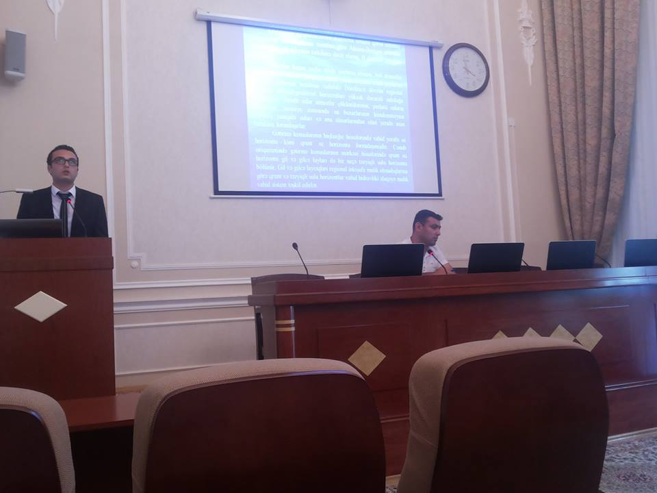 Next scientific seminar of young researchers was held at Institute of Geology and Geophysics of ANAS