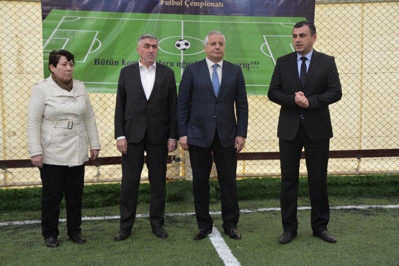 AMEA gənc alim və mütəxəssilərinin İnstitutlararası V Futbol Çempionatının qrup oyunlarına start verilib