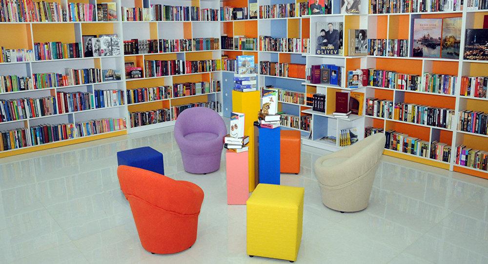 Azərbaycanda yeni konsepsiyalı ilk kompleks-kitabxana açılıb