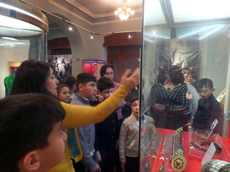 Students of Jojug Marjanly village of Jabrayil visited the Museum of History