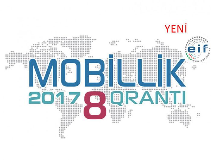 """Elmin İnkişafı Fondu 8-ci """"Mobillik qrantı"""" müsabiqəsini elan edib"""