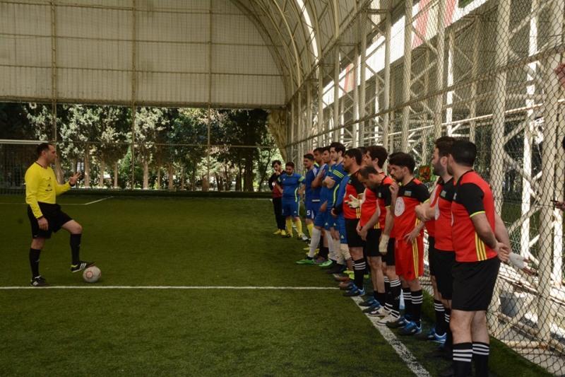 AMEA Gənc Alim və Mütəxəssislərin VI İnstitutlararası futbol çempionatında finalçılar məlum oldu