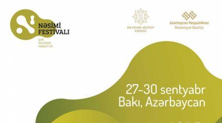 Azərbaycanda ilk dəfə Nəsimi - şeir, sənət və mənəviyyat Festivalı keçiriləcək