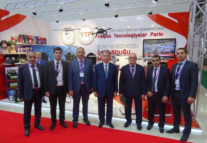 """AMEA Yüksək Texnologiyalar Parkı """"ADEX-2018"""" sərgisində iştirak edib"""