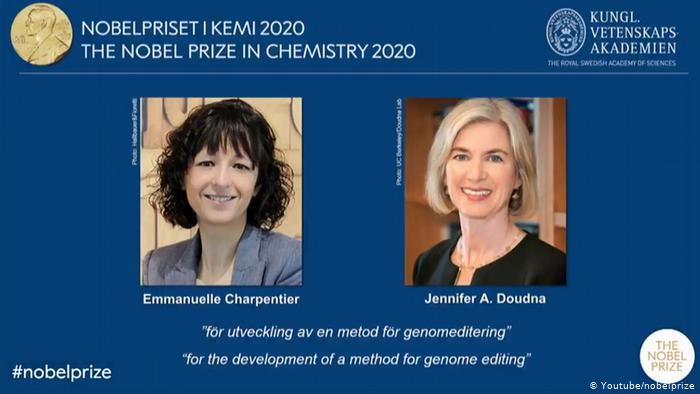 Kimya üzrə Nobel mükafatının qaliblərinin adları açıqlanıb