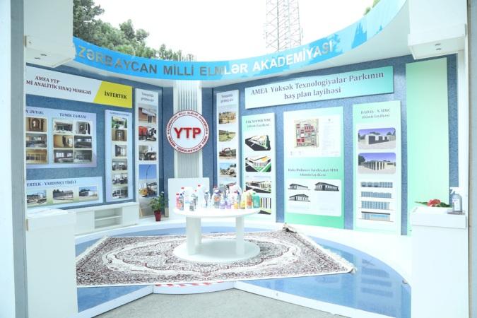 AMEA Yüksək Texnologiyalar Parkında yeni layihələrin təqdimatı olub