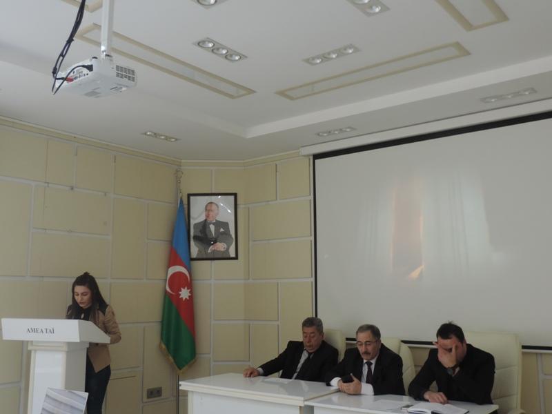 AMEA Torpaqşünaslıq və Aqrokimya İnstitutunda 20 Yanvar faciəsinin 29-cu ildönümünə həsr olunan tədbir keçirilib
