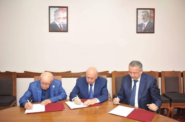 AMEA ilə BMU arasında əməkdaşlıq müqaviləsi imzalanıb