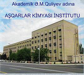 """AMEA Aşqarlar Kimyası İnstitutunda gənc kimyaçılar arasında """"Ən yaxşı elmi məruzə müsabiqəsi"""" elan edilib"""